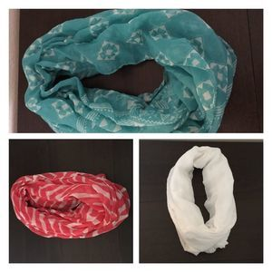 Infinity Scarves Set of 3